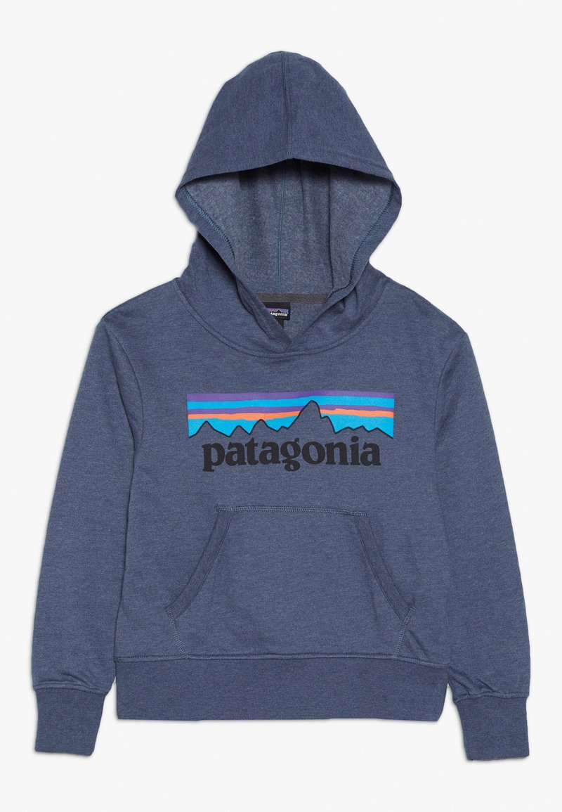 Patagonia - YOUTH LIGHTWEIGHT GRAPHIC HOODY - Hoodie - dolomite blue