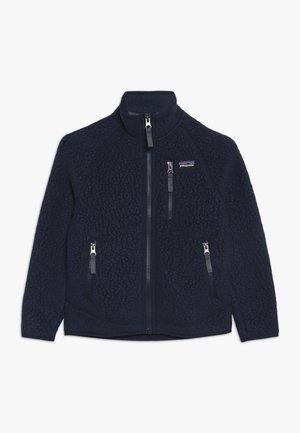 BOYS RETRO PILE - Fleece jacket - neo navy