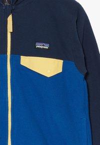 Patagonia - BOYS MICRO SNAP - Kurtka z polaru - superior blue - 3