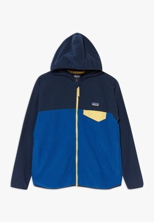 BOYS MICRO SNAP - Veste polaire - superior blue