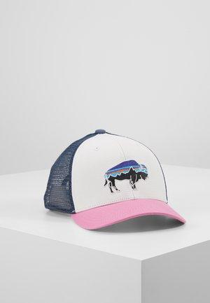 TRUCKER HAT - Cap - white/marble pink