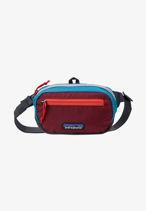 ULTRALIGHT BLACK HOLE MINI HIP PACK - Saszetka nerka - patchwork: roamer red