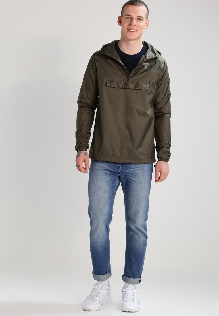 Packmack - POP OVER - Vindjacka - olive drab