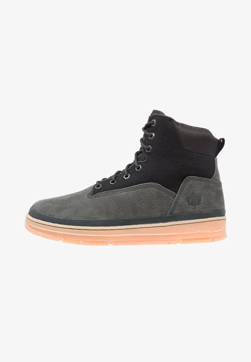 Park Authority - STATE SPORT  - Lace-up ankle boots - black