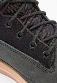 Park Authority - STATE SPORT  - Lace-up ankle boots - black - 5