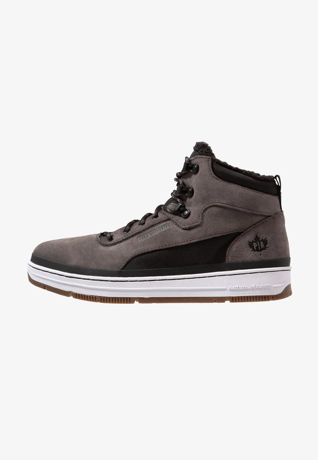 Sneakers hoog - dark grey/black