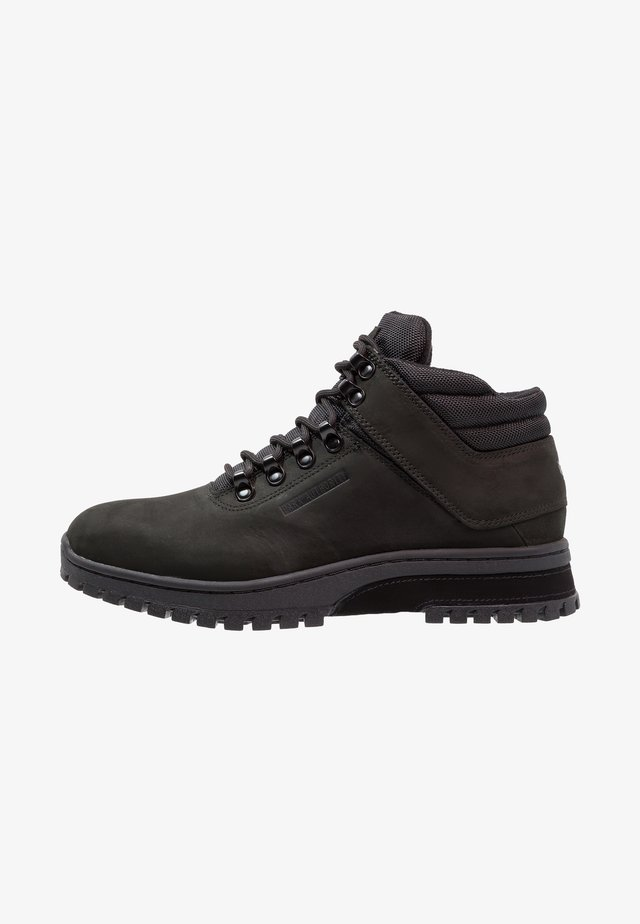 H1KE TERRITORY  - Lace-up ankle boots - blackout