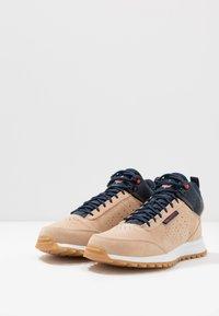 Park Authority - OAKLAND - Höga sneakers - dove - 2