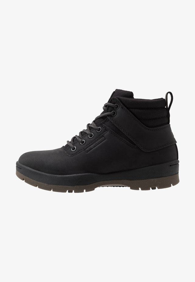 H1KE TERRITORY - Lace-up ankle boots - black