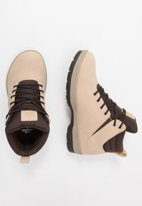 Park Authority - H1KE TERRITORY - Lace-up ankle boots - dove - 1