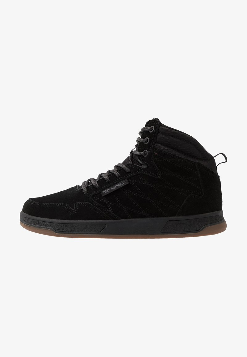 Park Authority - H1TOP - Höga sneakers - black