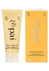 Pai skincare - BRITISH SUMMER TIME SENSITIVE SUNSCREEN - Zonnebrandcrème - yellow - 1