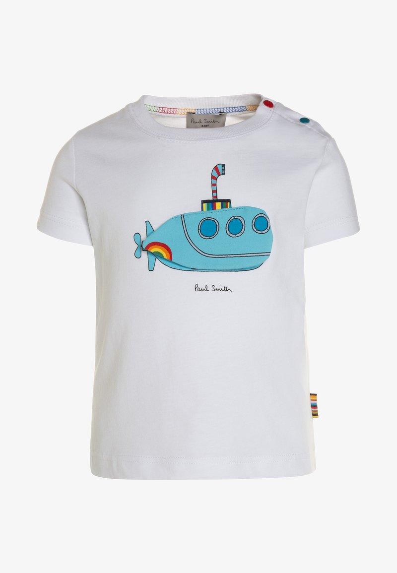 Paul Smith Junior - TODD - T-shirt con stampa - white