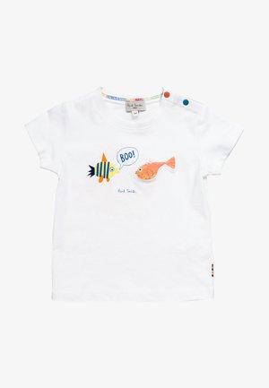 TAI - Camiseta estampada - white