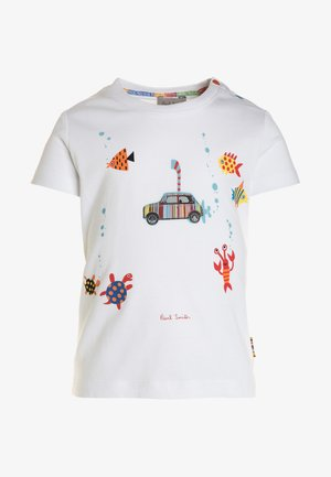 TED - T-shirt con stampa - white