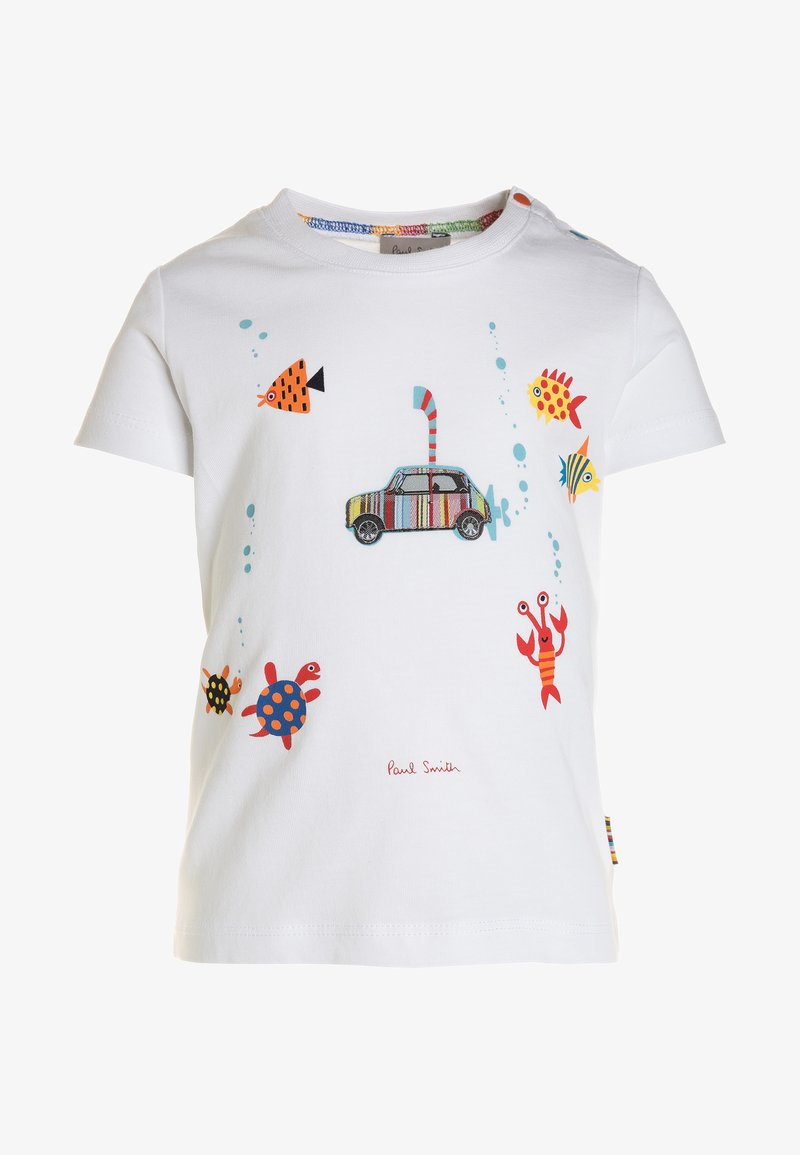 Paul Smith Junior - TED - T-Shirt print - white