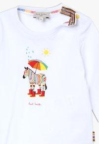 Paul Smith Junior - BABY - Långärmad tröja - white - 3