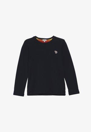 VIVEK - Maglietta a manica lunga - navy