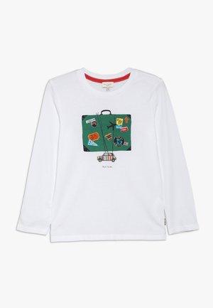 VILLY - T-shirt à manches longues - white