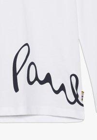 Paul Smith Junior - VISHAL - Bluzka z długim rękawem - white - 4