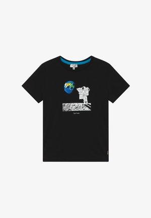 ABRIEL - T-shirt con stampa - black