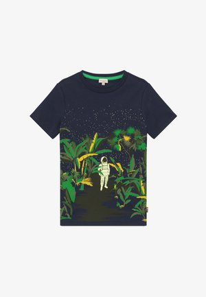 ADELIN - Print T-shirt - navy