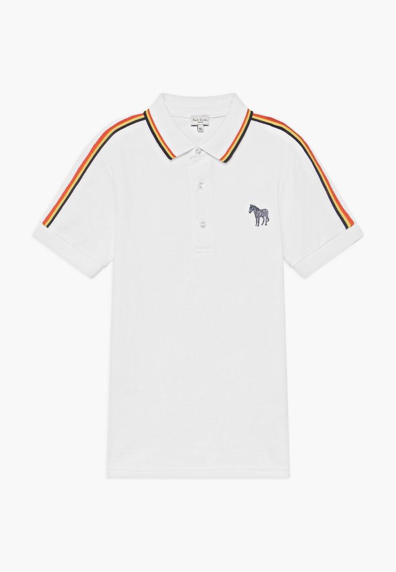 Paul Smith Junior - ARTY - Koszulka polo - white