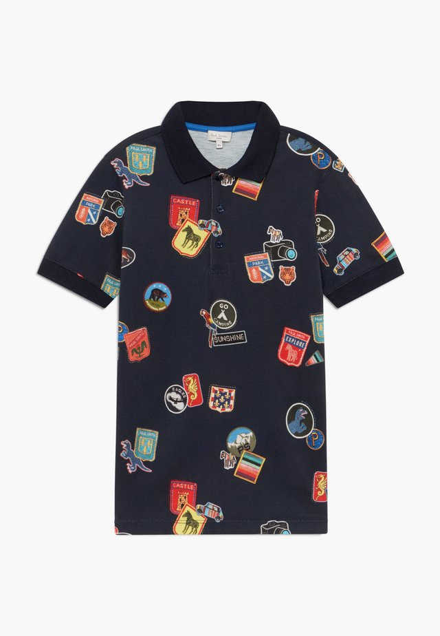 ALVIN - Polo shirt - navy