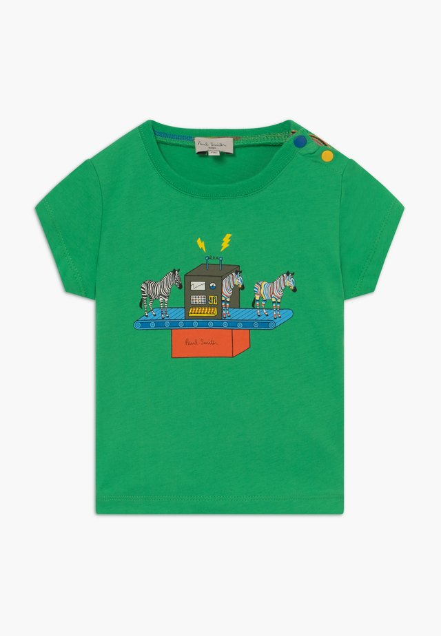 AZOU - T-shirt imprimé - kelly green