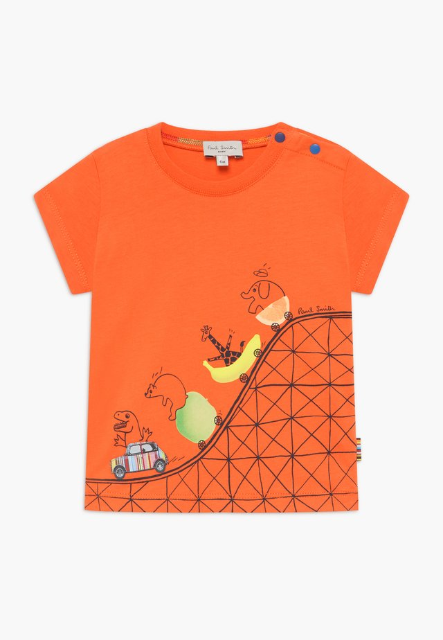 ANOR - T-Shirt print - orangeade