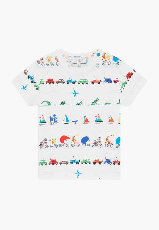 ARESKI - T-Shirt print - white