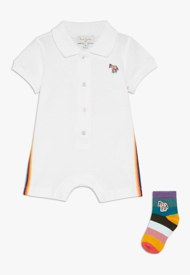 ALESSANDRO  - Geschenk zur Geburt - white