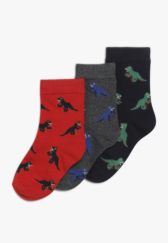 VINAY 3 PACK - Socken - winter red