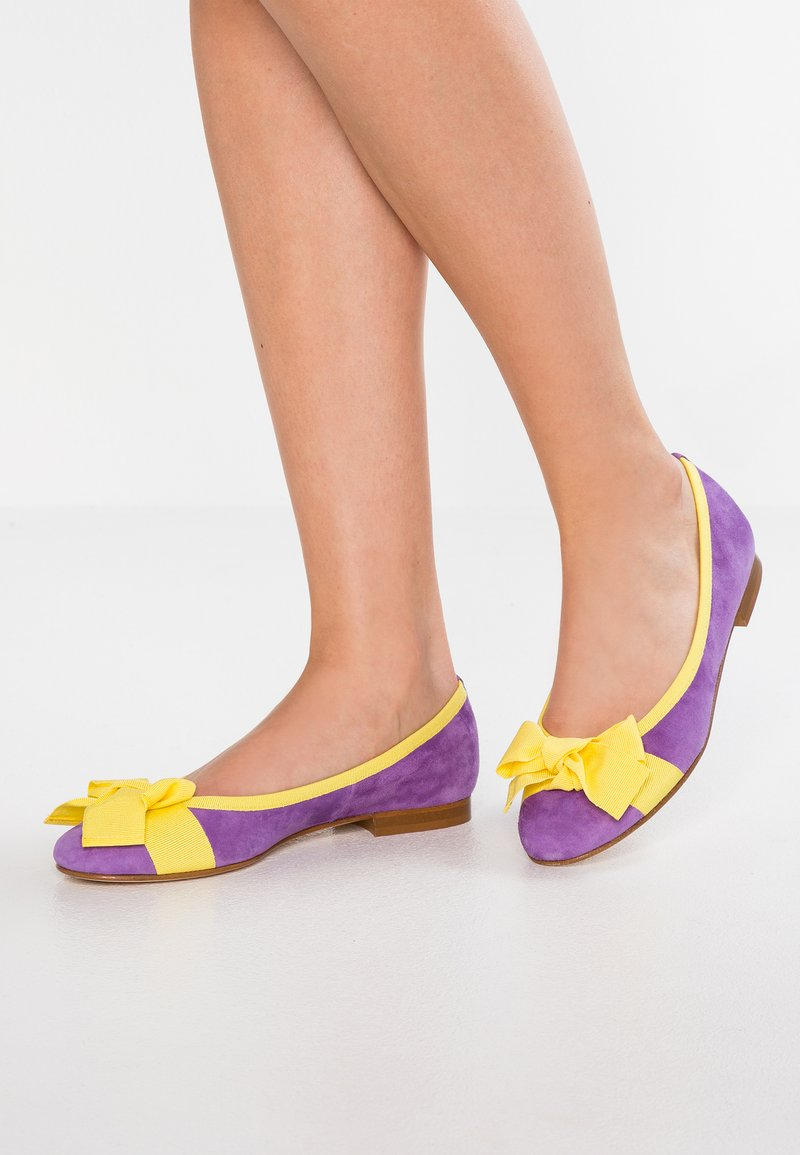 paolifirenze - Ballerina's - cam viola/limone