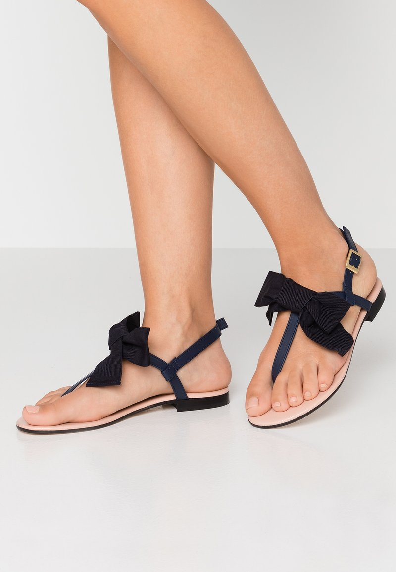 paolifirenze - T-bar sandals - blu navy