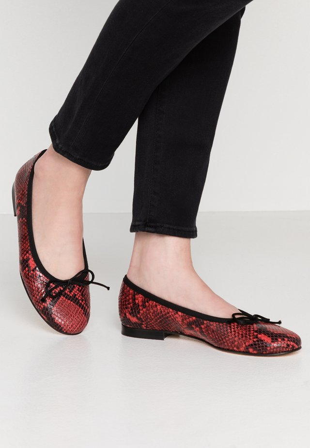 Ballet pumps - candy/rosso/nero