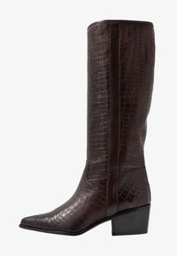 paolifirenze - Cowboy/Biker boots - cocco/testa di moro - 1