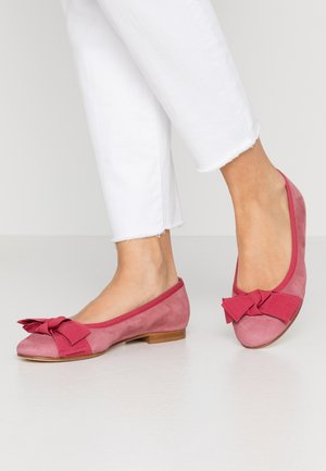 Ballet pumps - mauve/bordo