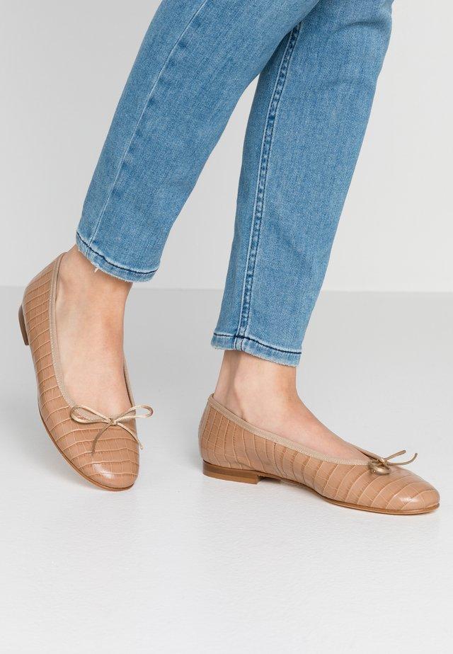 Ballet pumps - cocco caramello/deserto