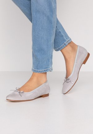 Ballet pumps - grey/perla