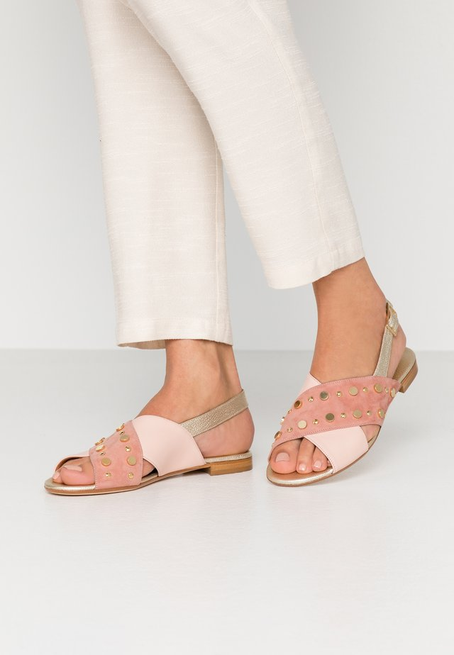 Sandals - clay/nude/platino