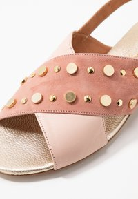 paolifirenze - Sandals - clay/nude/platino - 2