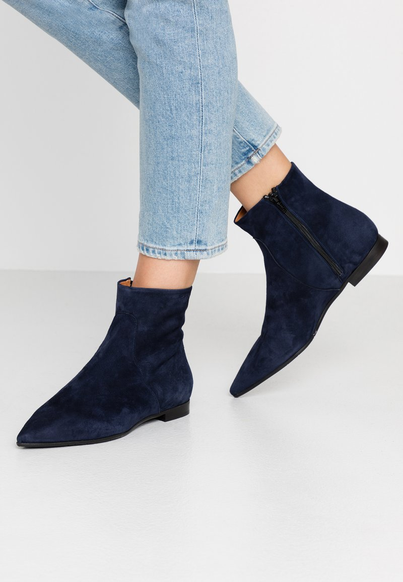 paolifirenze - Classic ankle boots - oceano