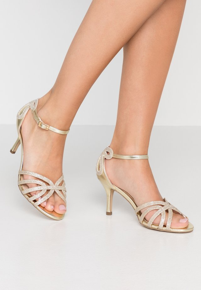 HARLEY WIDE FIT - Sandals - champagne glitter