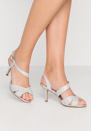 HOGAN WIDE FIT - Sandals - silver
