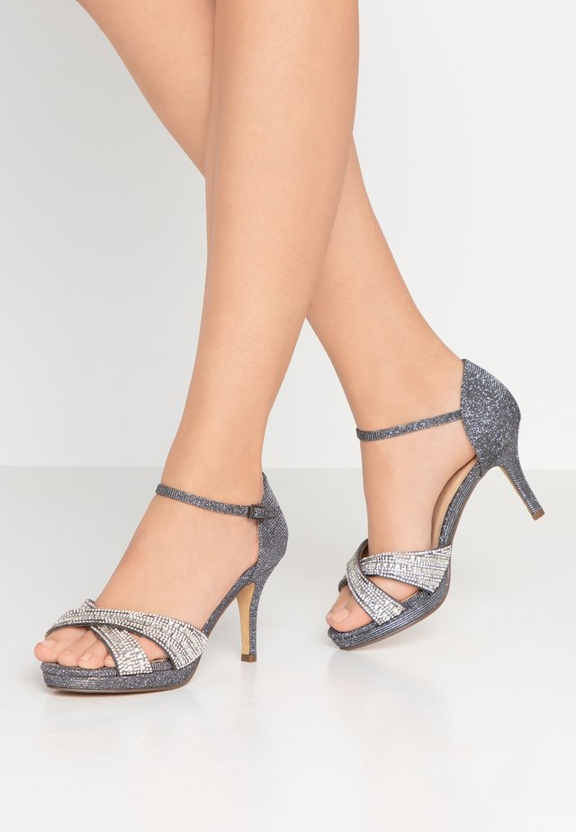 HAVEN WIDE FIT - High heeled sandals - pewter
