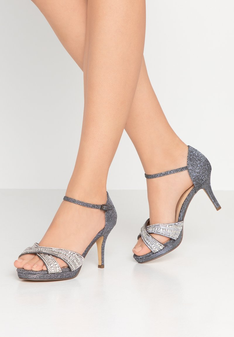 Paradox London Wide Fit - HAVEN WIDE FIT - High Heel Sandalette - pewter