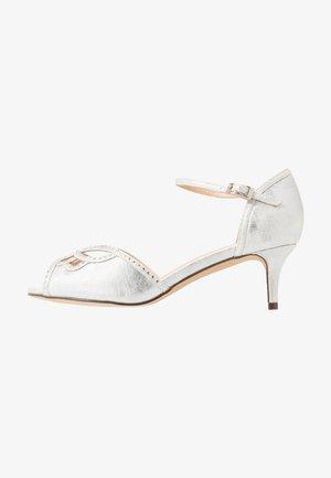 WIDE FIT HISAKI - Sandals - silver