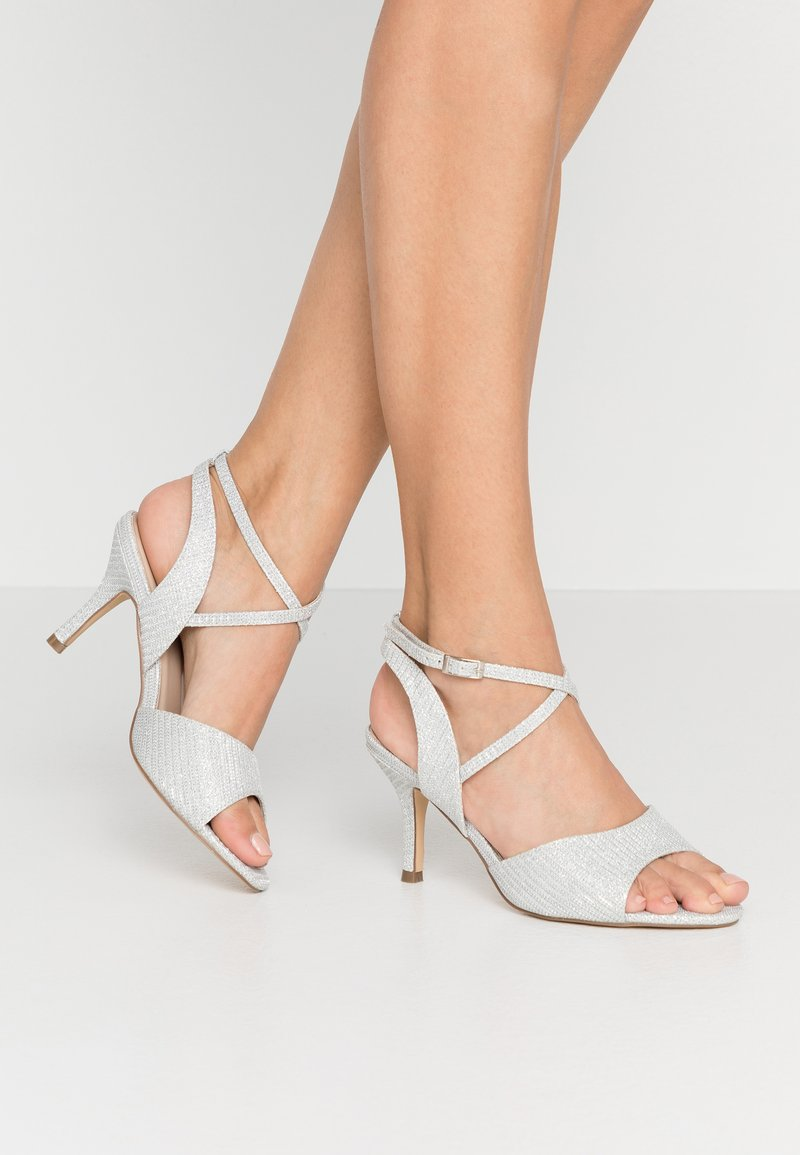 Paradox London Wide Fit - WIDE FIT HADORA - Sandály - silver