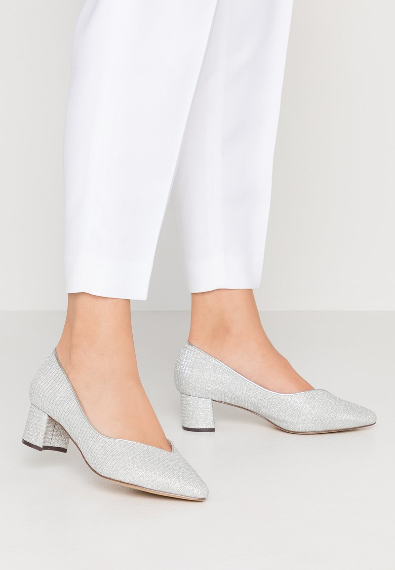 Paradox London Wide Fit - FABLE WIDE FIT - Tacones - silver